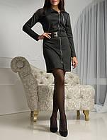 """Модное платье """"Графит Кантри"""" для стильных женщин"""