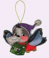 Набор для шитья игрушки из фетра Снегирь БФ F 030