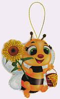 Набор для шитья игрушки из фетра Пчелка БФ F 031