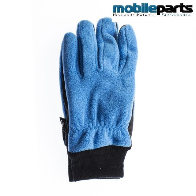 Перчатки для сенсорных экранов QUAKERS YH (Размер L) (Синий)