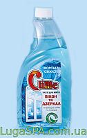 """Средство для мытья стекол и зеркал с нашатырным  спиртом """"Морская свежесть"""" Clime, 0,75л. (запаска)"""