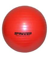 """Мяч для фитнеса """"GYM BALL"""" красный 75 см (1100г)"""