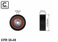 Паразитный / ведущий ролик ремня генератора (56x21) 1.2 —Caffaro (Польша) - CFR36-49