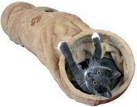 Туннель меховой для кошек Trixie 125см/d 25см