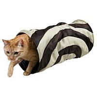 Туннель тканевый для кошек Trixie 50см/d 25см