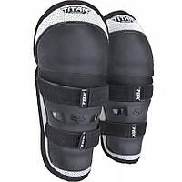 Детские наколенники FOX PeeWee Titan Knee/Shin [Black/Silver], One Size