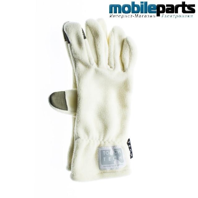 Перчатки для сенсорных экранов JANE DEPARTMENT SS (Размер L) (Белый)