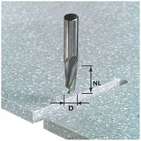 Фреза цельная твердосплавная спиральная пазовая HW D10 /25 SS S10 Festool 492653