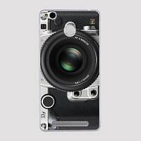 Силиконовый чехол бампер для Xiaomi Redmi 3 Pro / 3s Pro с картинкой Фотоаппарат