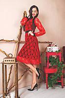 Женское Платье из кружева