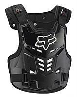 Детская мотозащита тела FOX PROFRAME LC, CE [BLK], One Size
