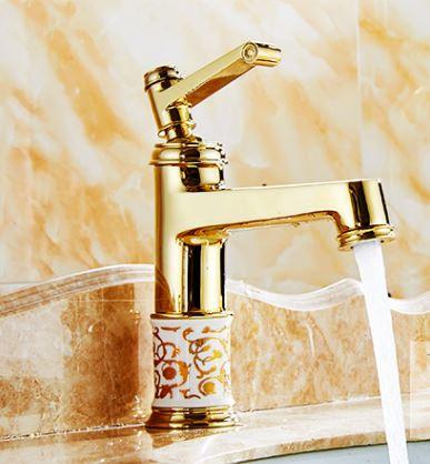 Смеситель кран однорычажный в ванную комнату для умывальника