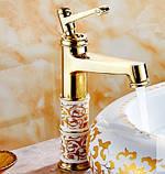 Смеситель кран однорычажный в ванную комнату для умывальника, фото 4