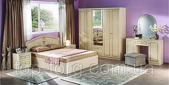 Спальня Стелла крем, білий. Комплект