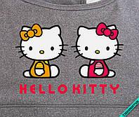 Наклейка на ткань Hello Kitty [7 размеров в ассортименте]