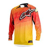 "Джерси Alpinestars CHARGER текстиль orange\red\yellow ""M""(32), арт. 3761214 435, арт. 3761214 435"