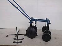 Окучник ручной дисковый (EXPERT) (пропольник,нарезка борозд.окучивание картошки)
