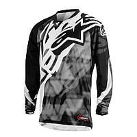 "Джерси Alpinestars RACER текстиль grey\black ""S""(30), арт. 3761514 107, арт. 3761514 107"