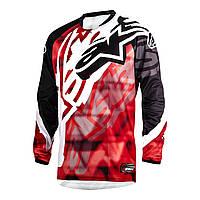 "Джерси Alpinestars RACER текстиль red\black ""S""(30), арт. 3761514 31, арт. 3761514 31"