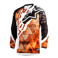 "Джерси Alpinestars RACER текстиль orange\black ""S""(30), арт. 3761514 41, арт. 3761514 41"