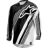 Джерси Alpinestars RACER SUPERMATIC текстиль black/grey L