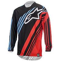 Джерси Alpinestars RACER SUPERMATIC текстиль black/red/blue M