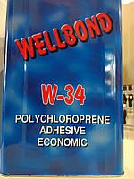 Клей наиритовый Wellbond , ведро, 15 кг