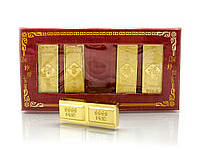 Золотые слитки  (5 шт)(14х7,5х1,5 см)