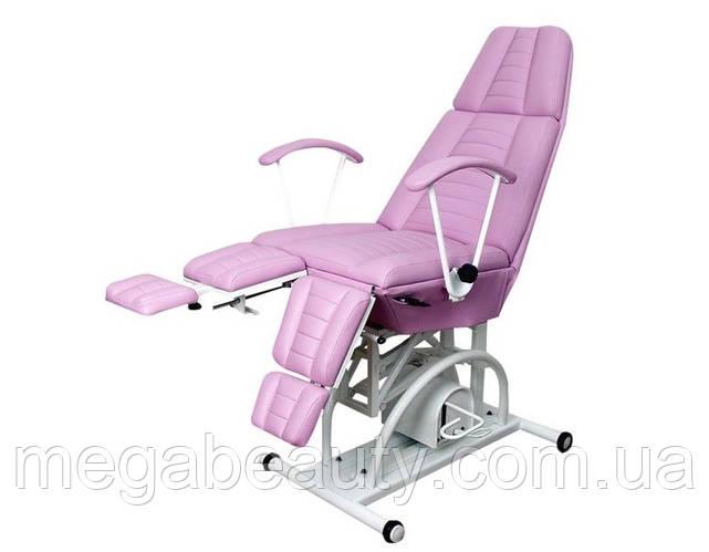 Кресло-кушетка КП-3 для педикюра, для косметолога,с гидравлическим регулятором высоты