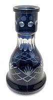 Колба для кальяна стекло черная (25х14,5х14,5 см d-4,5 см)