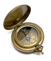 Компас карманный антик бронза (4,5х4,5х1,5 см)