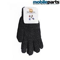 Перчатки для сенсорных экранов GLOVE 5 TOUCH (Черный)