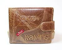 """Кожаный мужской кошелек Kavi""""s"""
