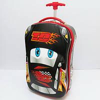 Детский пластиковый чемодан для мальчика Машина