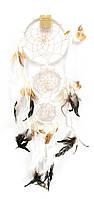 Ловец снов белый (d-16 см)