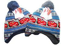 Вязаная шапка, PIXAR, для мальчика, размеры 52-54 см, арт. 38501