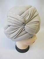 Утепленные женские шапки на зиму., фото 1