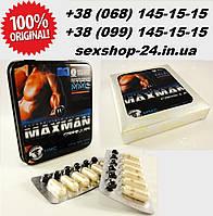 Виагра Maxman 4 (12 шт.капсул) препарат для укрепления и увеличения мужской силы