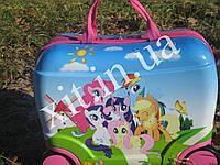 Детский чемодан-каталка Pony