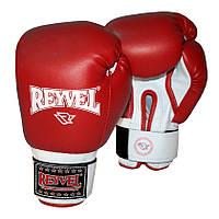 Боксерские перчатки Reyvel винил 10oz. (красные)