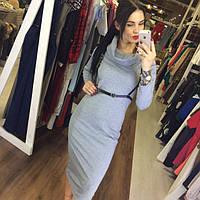 Платье с портупеей