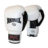 Боксерские перчатки Reyvel винил 10oz. (белые)