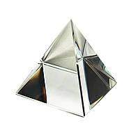 Пирамида хрустальная (7 х7х7 см)