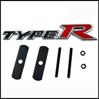 "3D эмблема ""TypeR""  на решётку  радиатора."