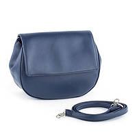 Маленькая женская сумочка через плечо JACOB в расцветках. синяя пелле