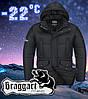 Тёплая мужская куртка Braggart размер 56