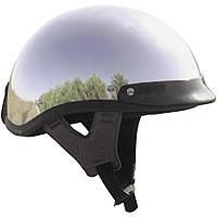 Мотошлем-каска Skid lid Traditional хром (M)