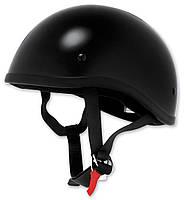 Мотошлем-каска Skid lid черный (XL)