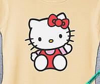 Аппликация, наклейка на ткань Hello Kitty [7 размеров в ассортименте]
