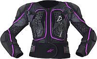 "Сетка защитная Alpinestars женская STELLA BIONIC black/violet ""S"", арт.651658 13, арт. 651658 13"